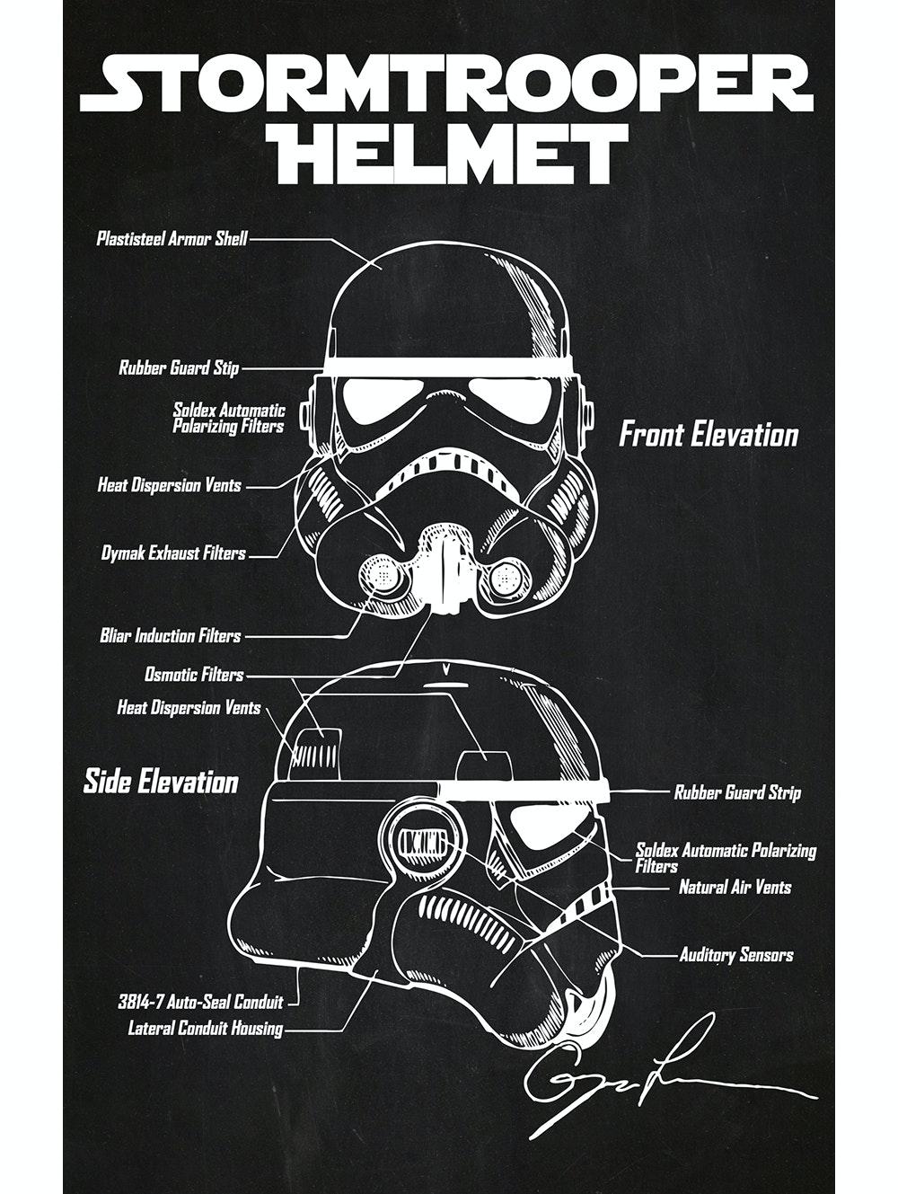 Star Wars - Stormtrooper Helmet