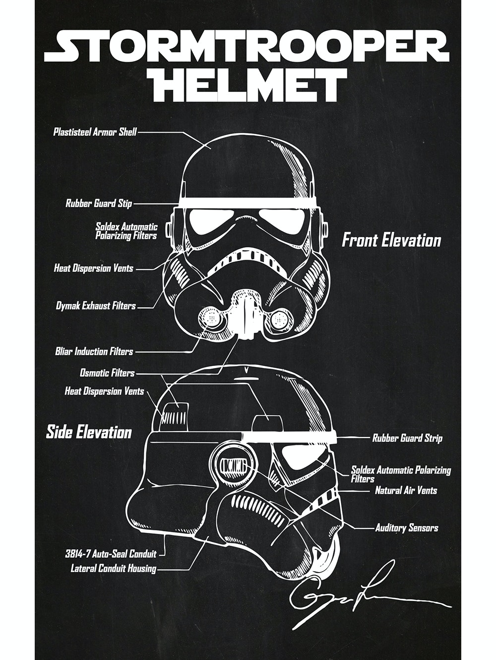 Star Wars - Stormtrooper Helmet