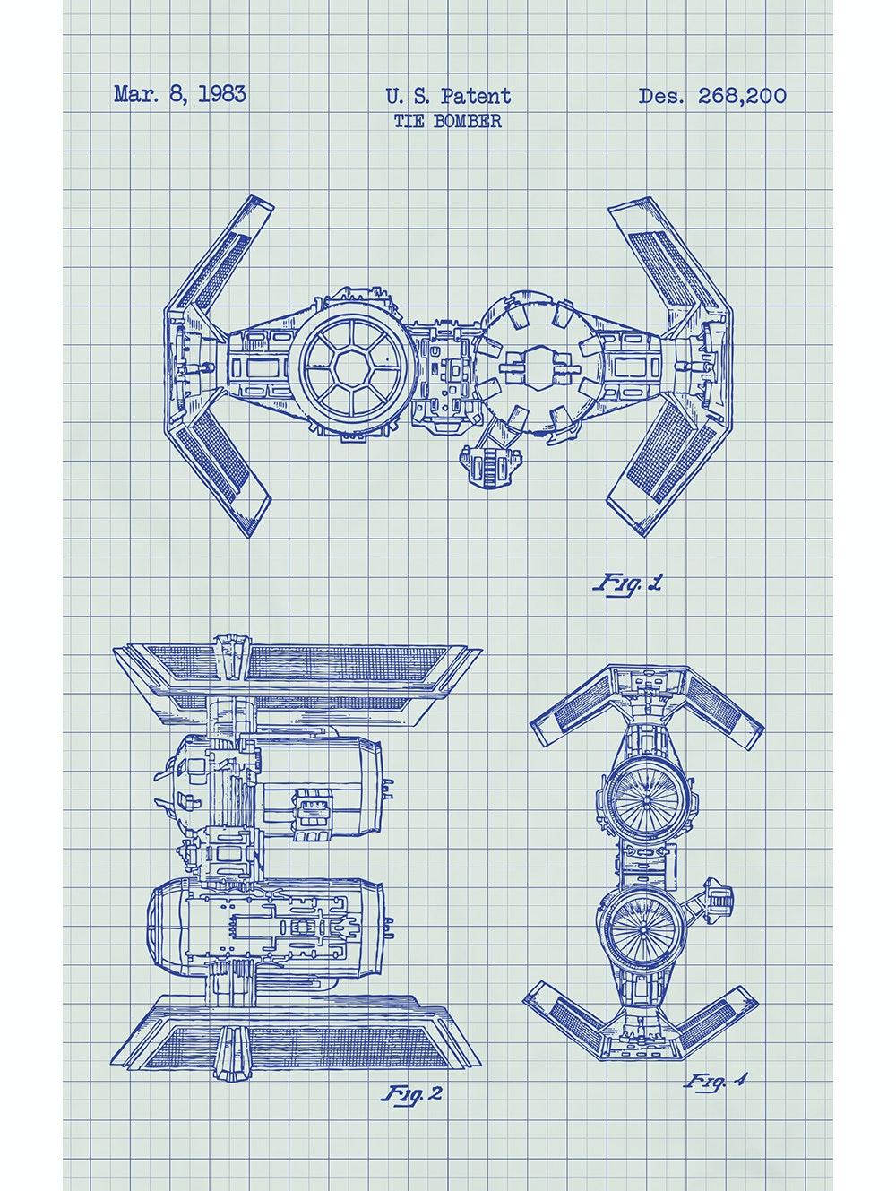 Star Wars - Tie Bomber - 268,200