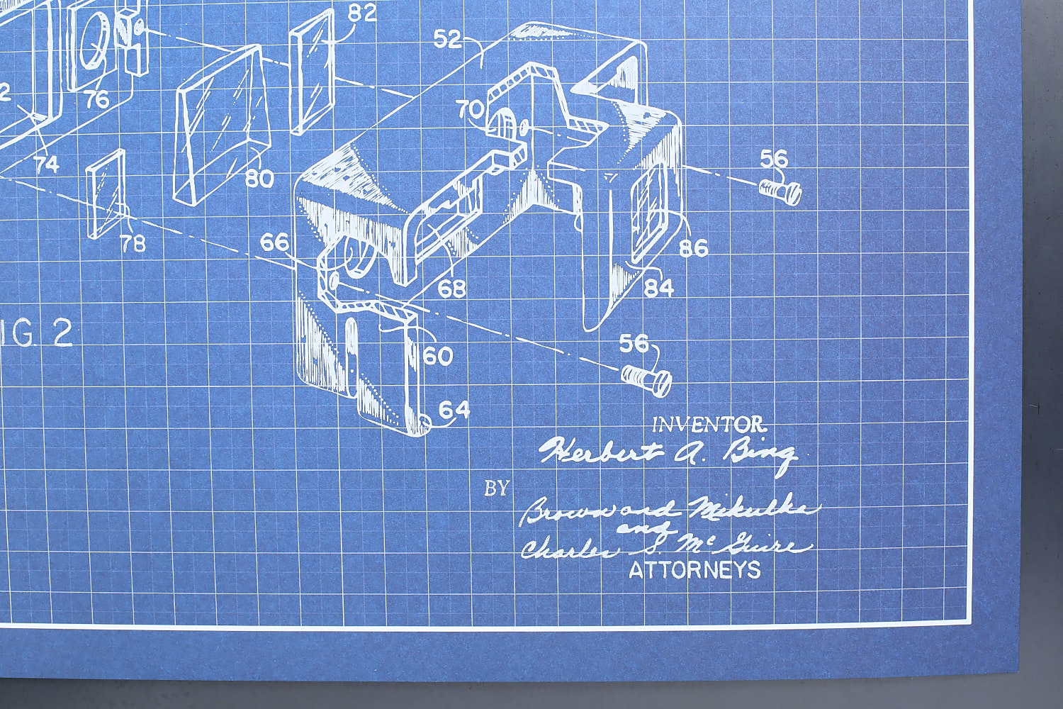 """Inked and Screened 11""""x17"""" Patent Prints"""
