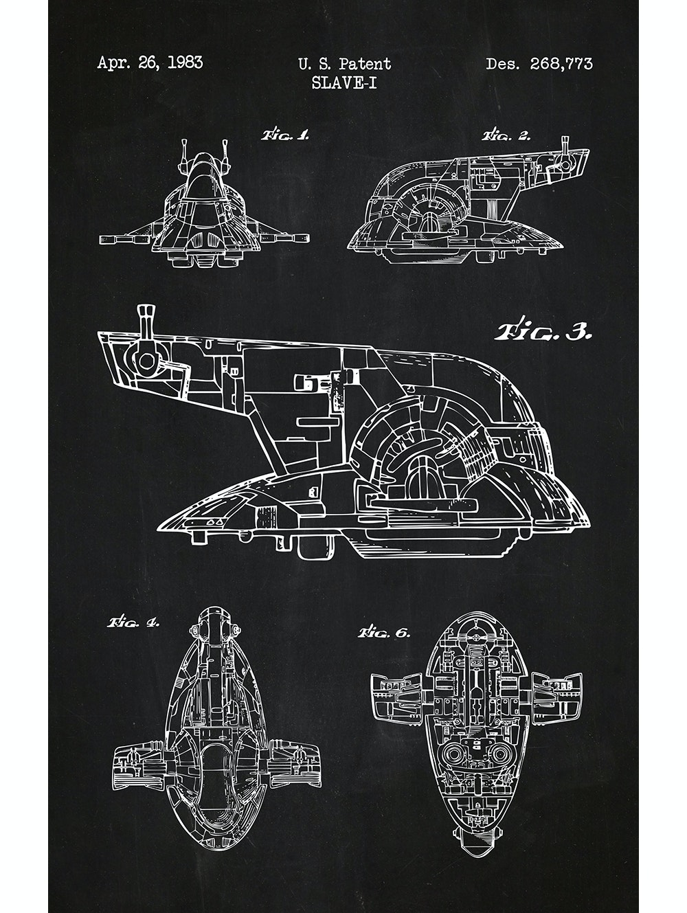 Star Wars - Slave I - 268,773
