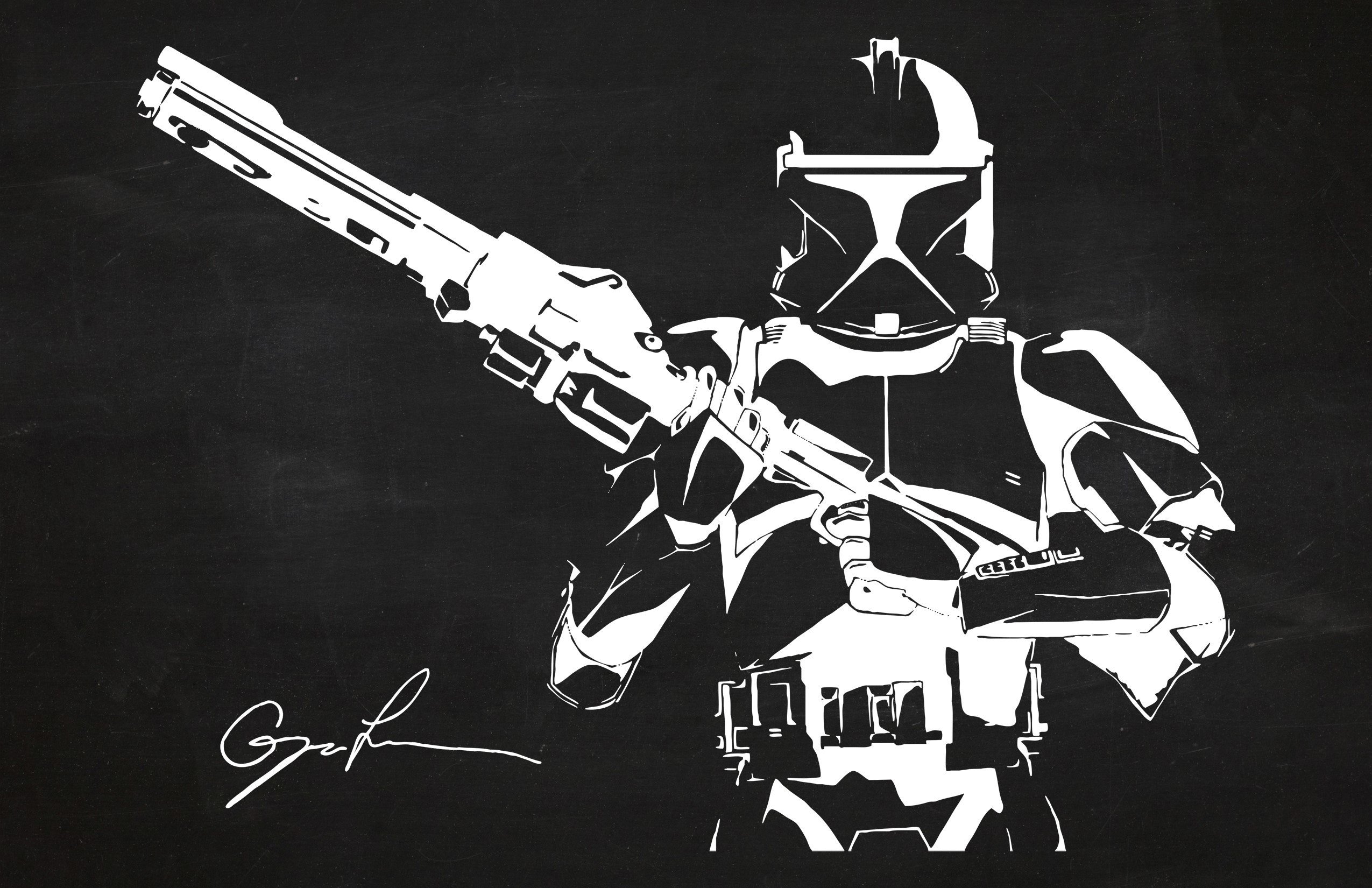 Star Wars - Stormtrooper with Rifle