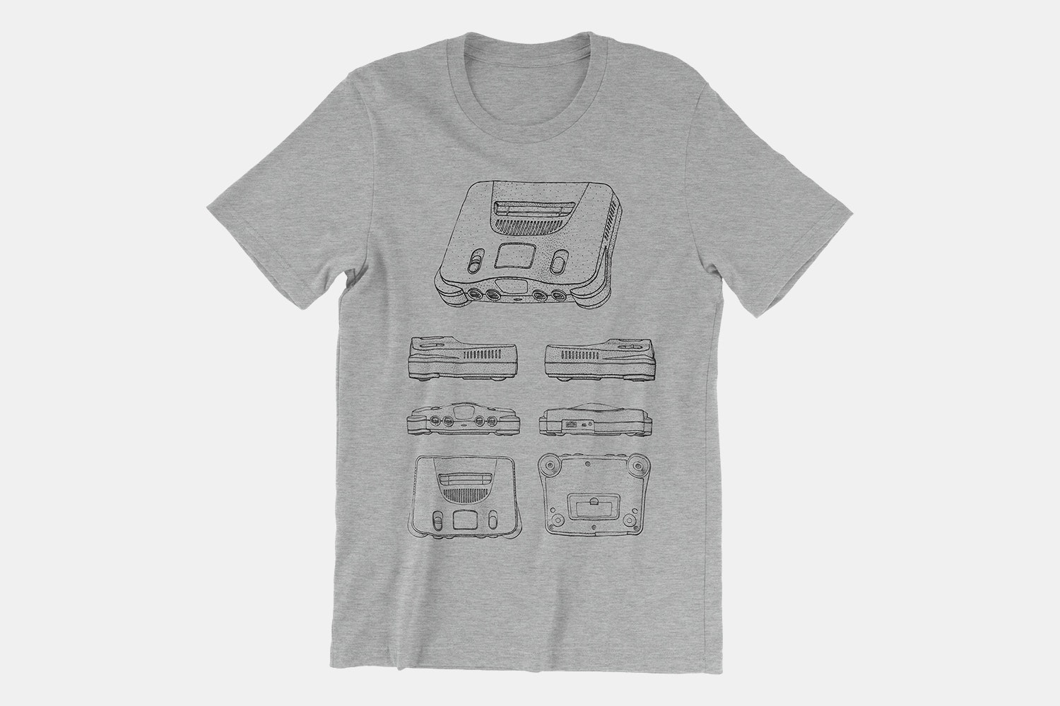 Nintendo 64 Game Machine - Heather Gray
