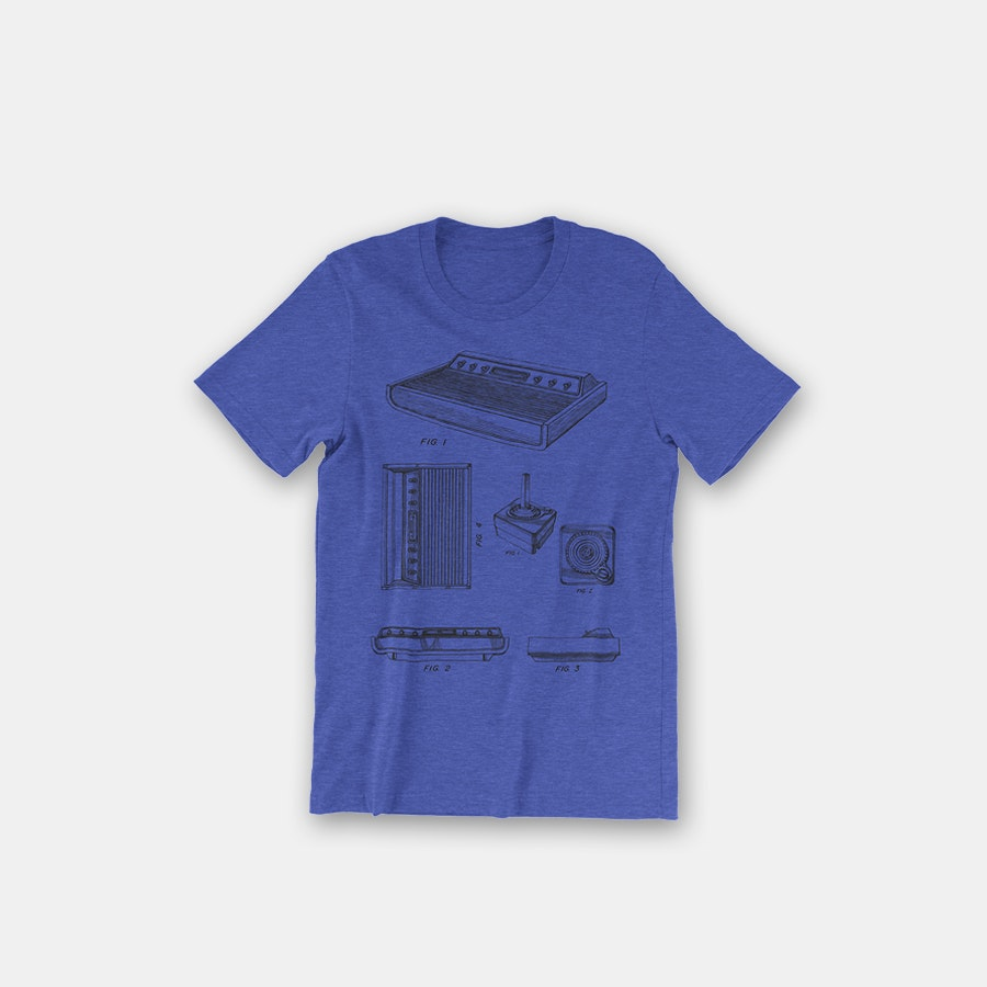 Inked & Screened Video Game T-Shirts