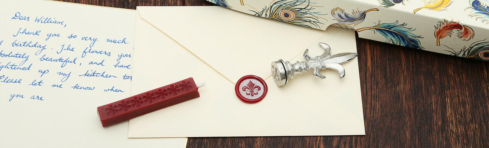 Interchangeable Wax Seal Set