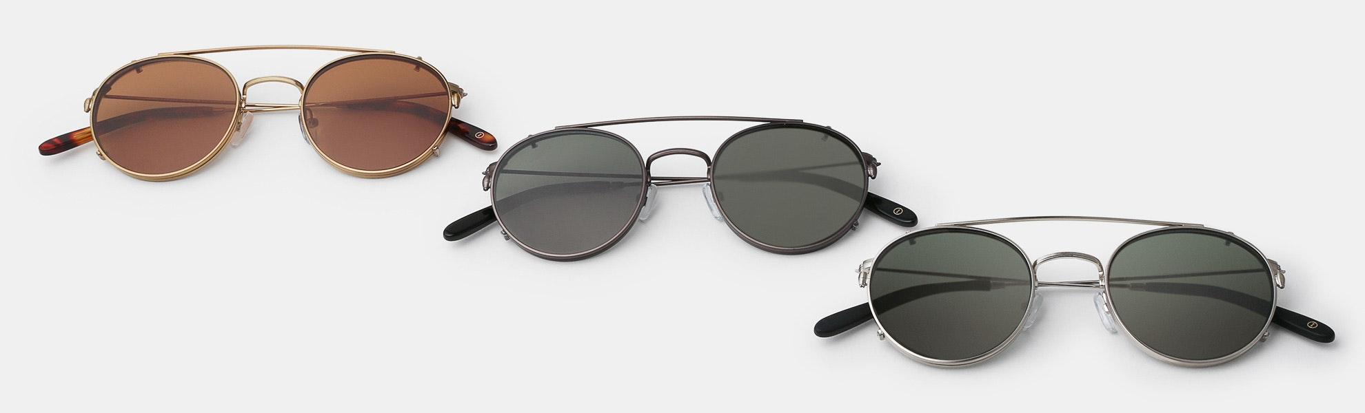 Inventery Clip-On Sunglasses