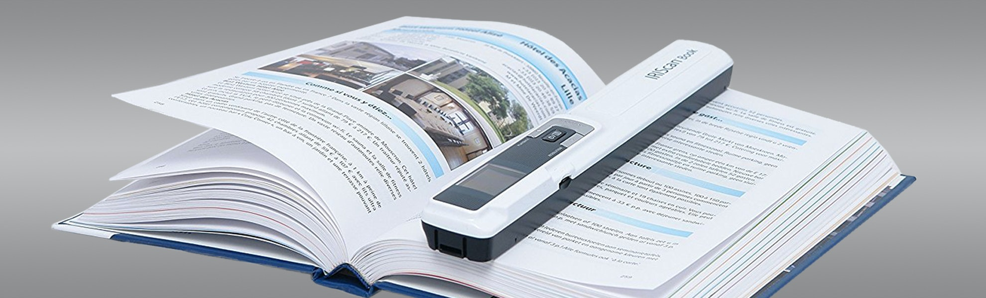 IRIS Scanners w/Readiris 15 Scanning Software