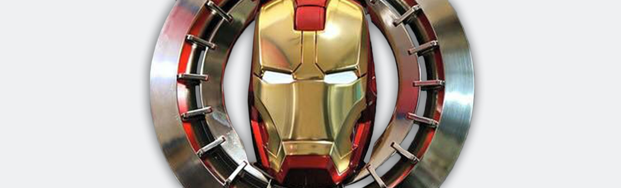 Ironman 2.4G Wireless Mouse (Officially Licensed)