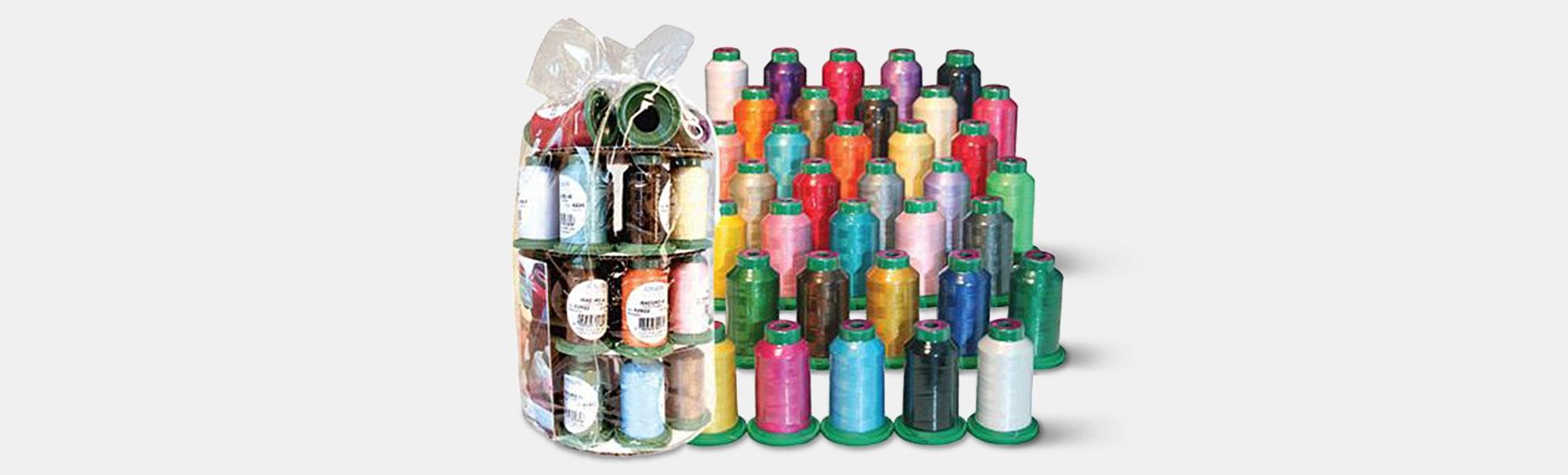 Isacord Thread Set of 36 & Holder