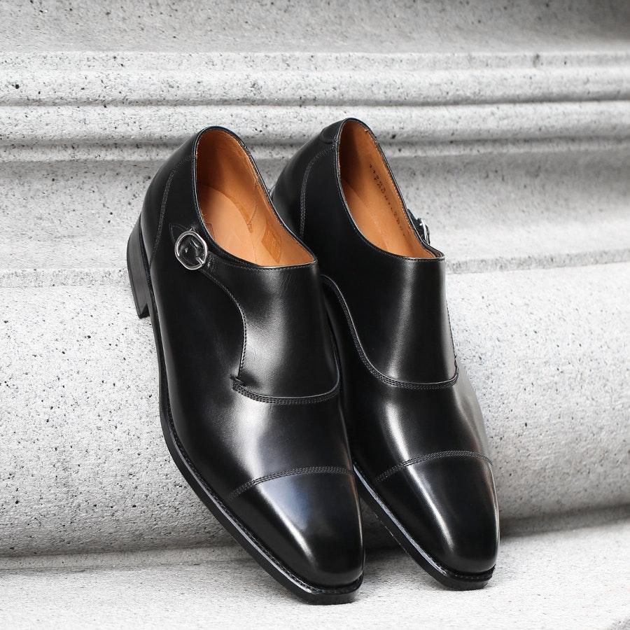 J. FitzPatrick Footwear Fauntleroy Monkstraps