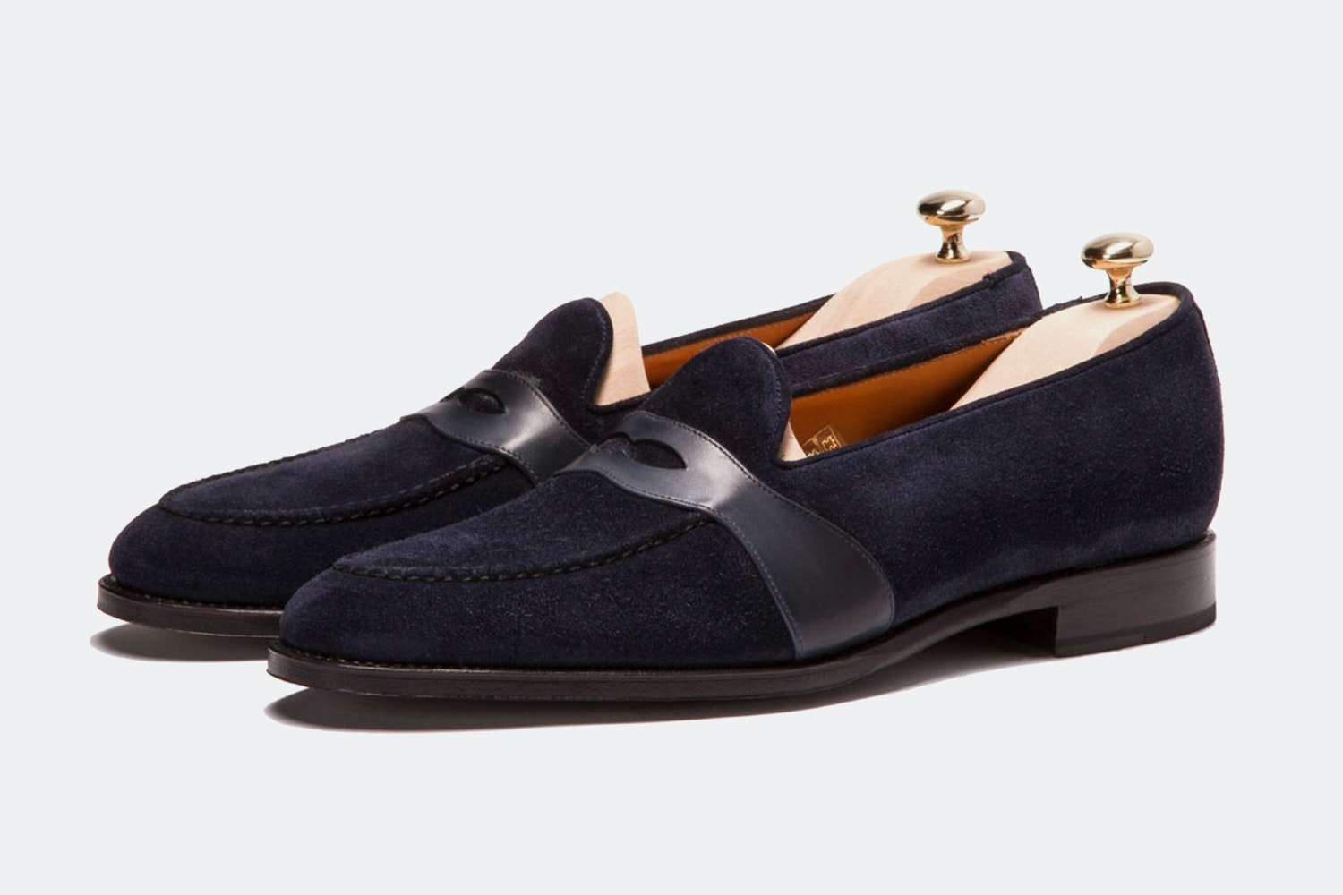 Navy Suede/Shaded Navy Calfskin