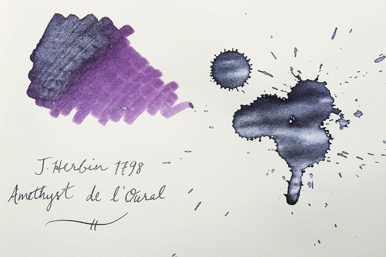 J. Herbin 1798 Amethyste De L'Oural Ink (2-Pack)