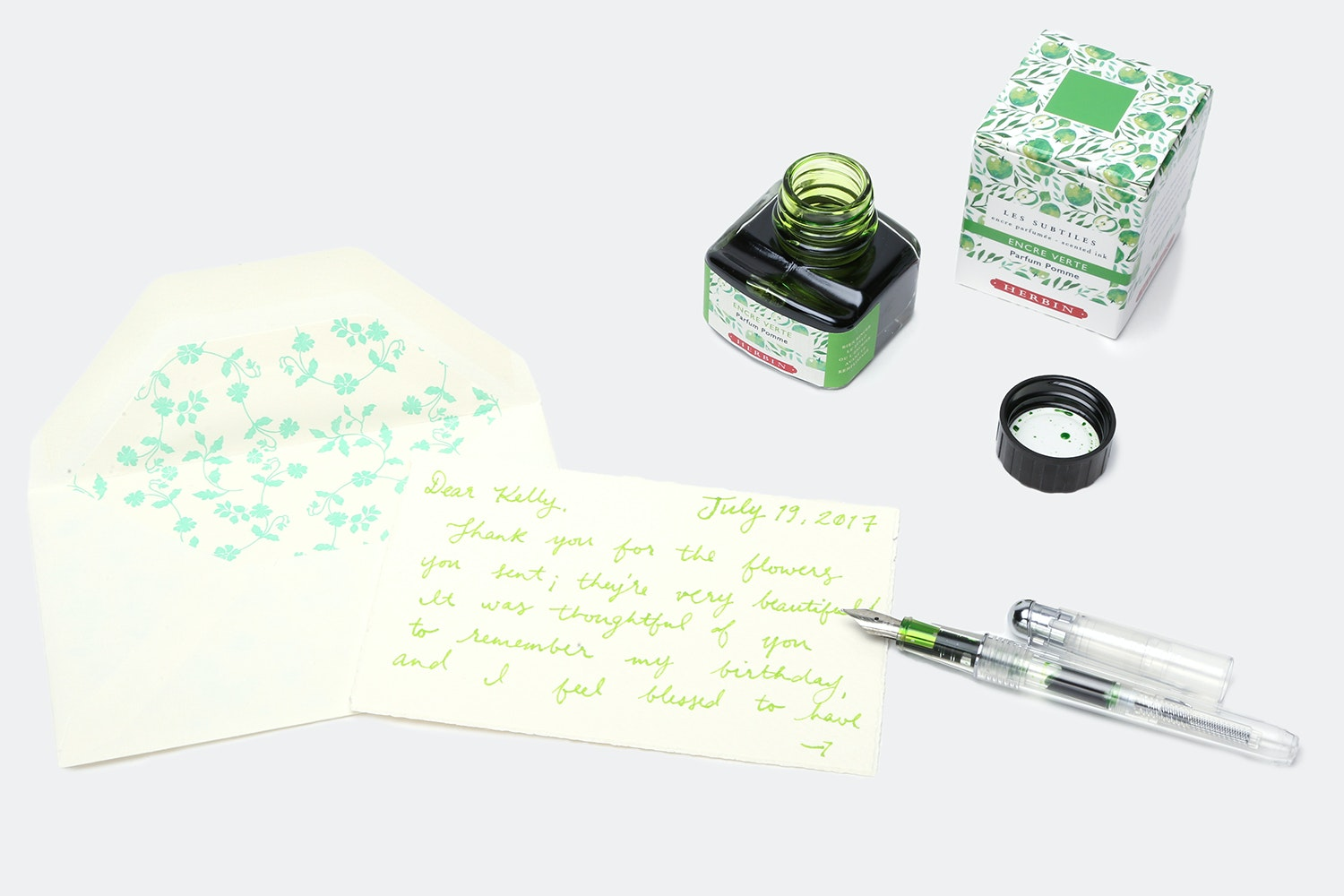 J. Herbin Scented Fountain Pen Ink (2-Pack)