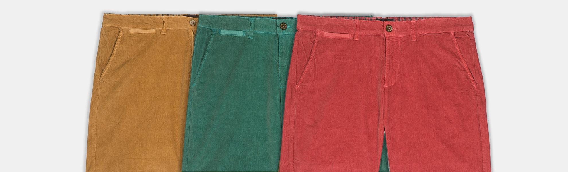 Jachs NY Corduroy Bedford 8-Inch Shorts