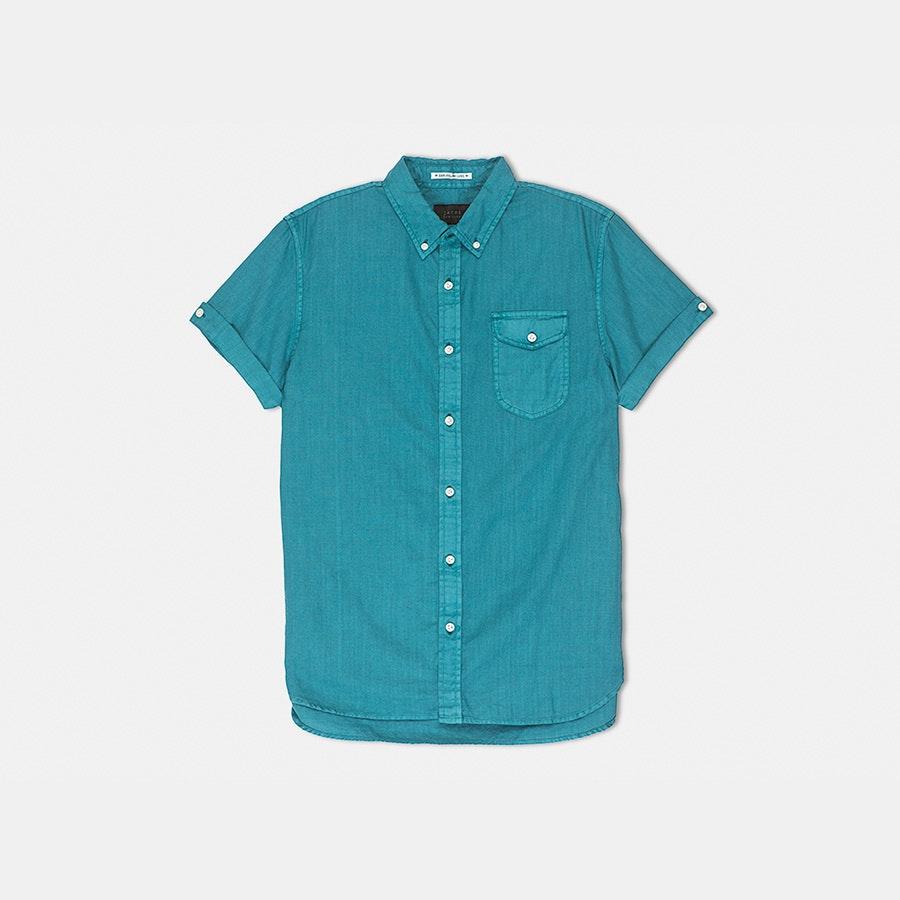Jachs NY Short-Sleeve Oxford Shirts