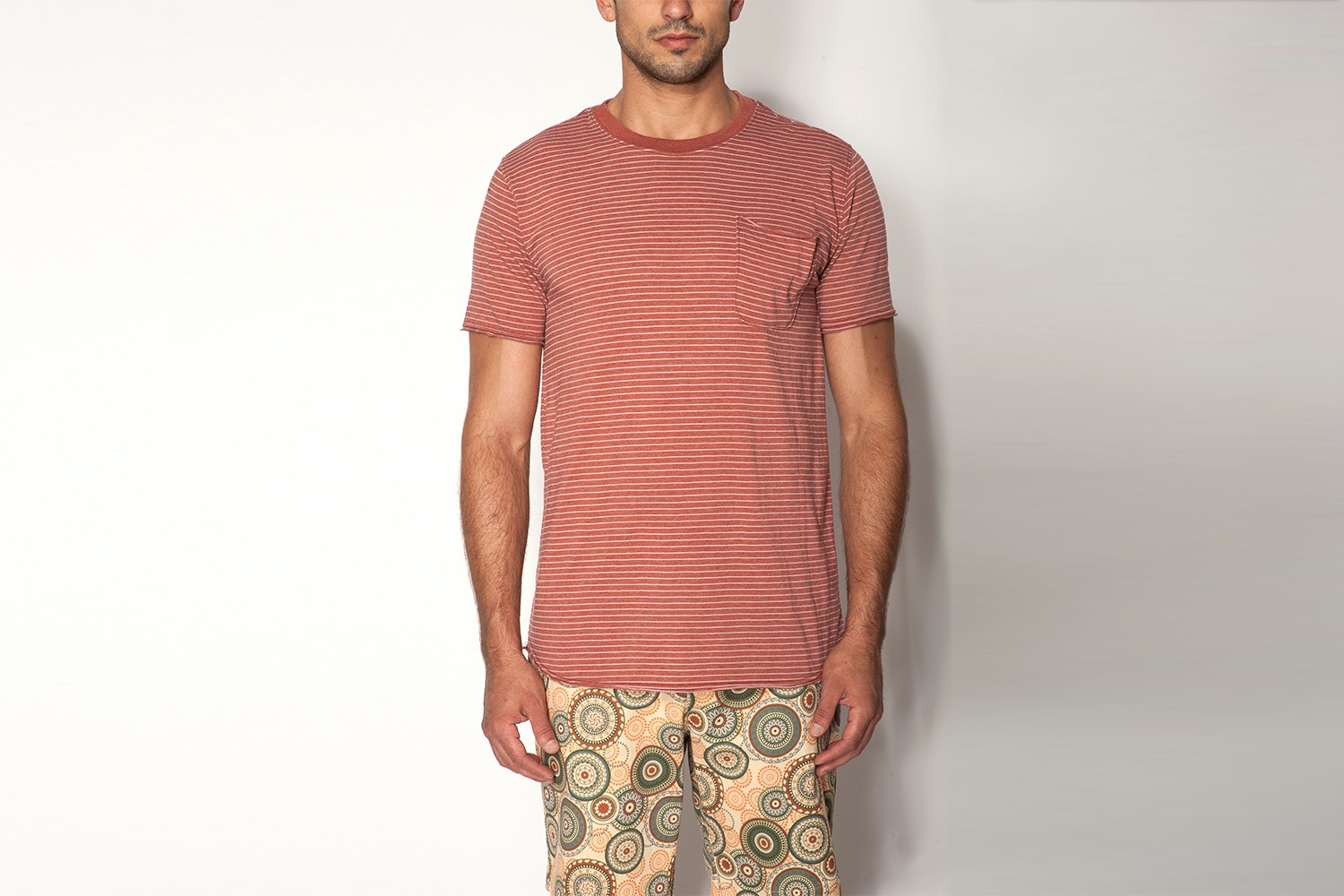 Jachs NY Striped Pocket Tee