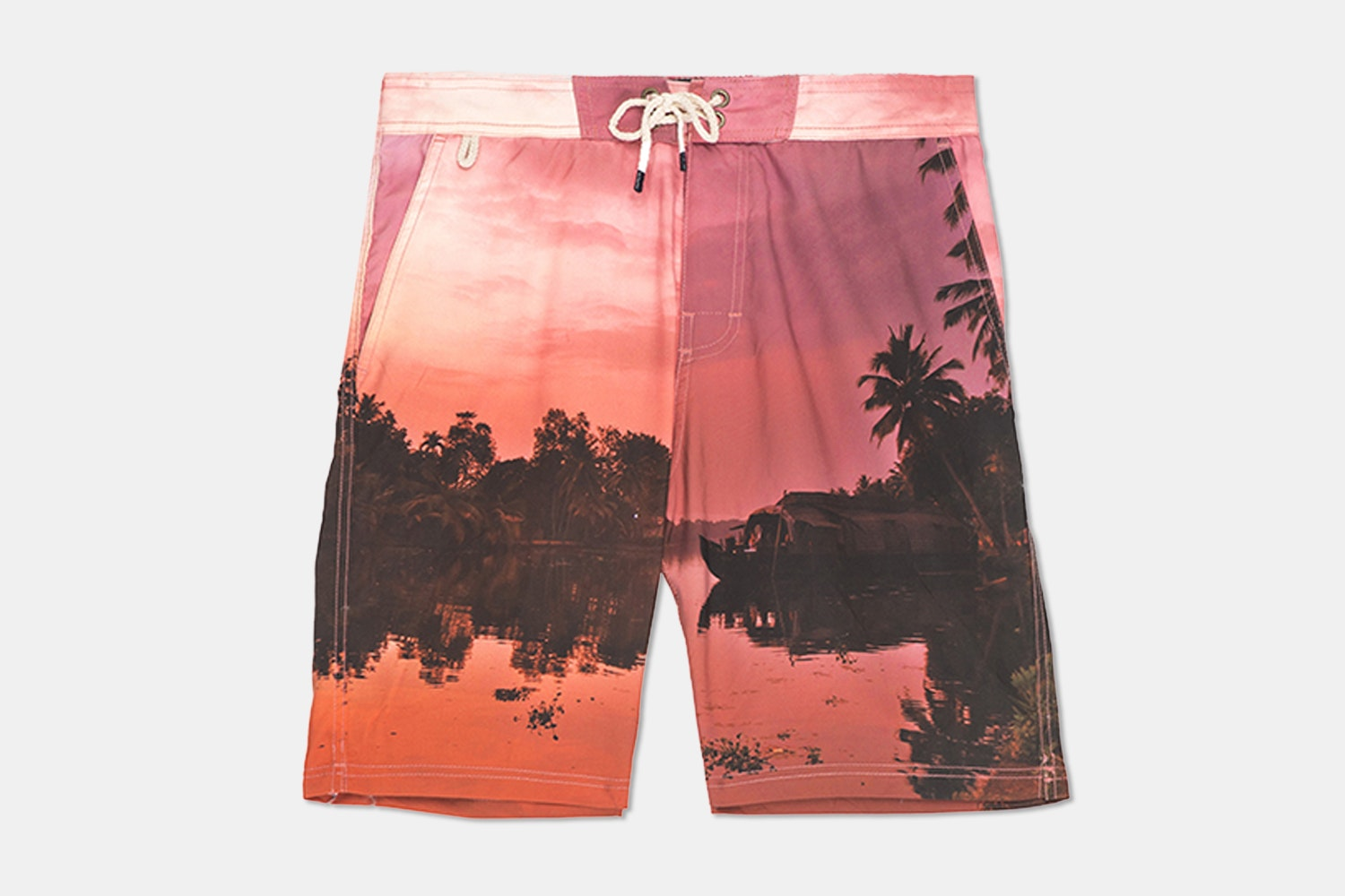 Printed Board Short – Tropic