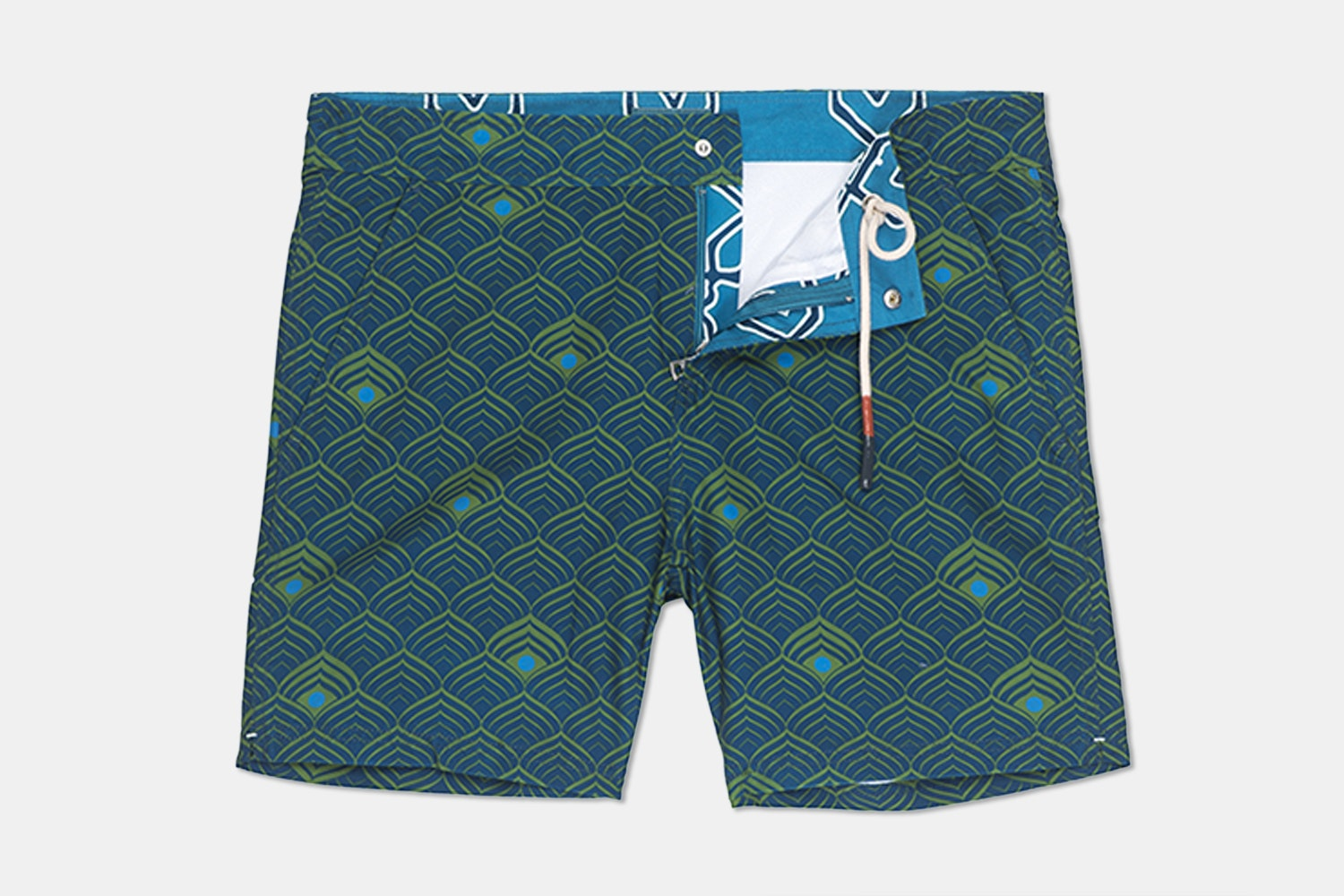 Hampton Swim Trunk – Lotus Geo  (+ $12)