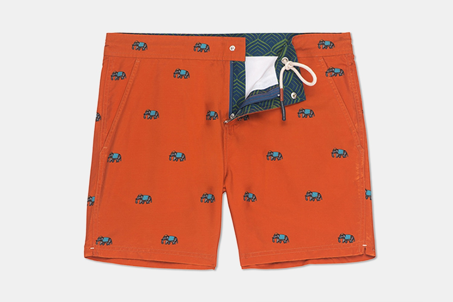 Hampton Swim Trunk – Elephant  (+ $12)