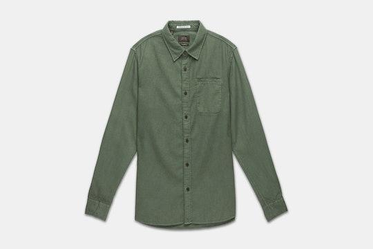 Olive Welt Pocket Shirt