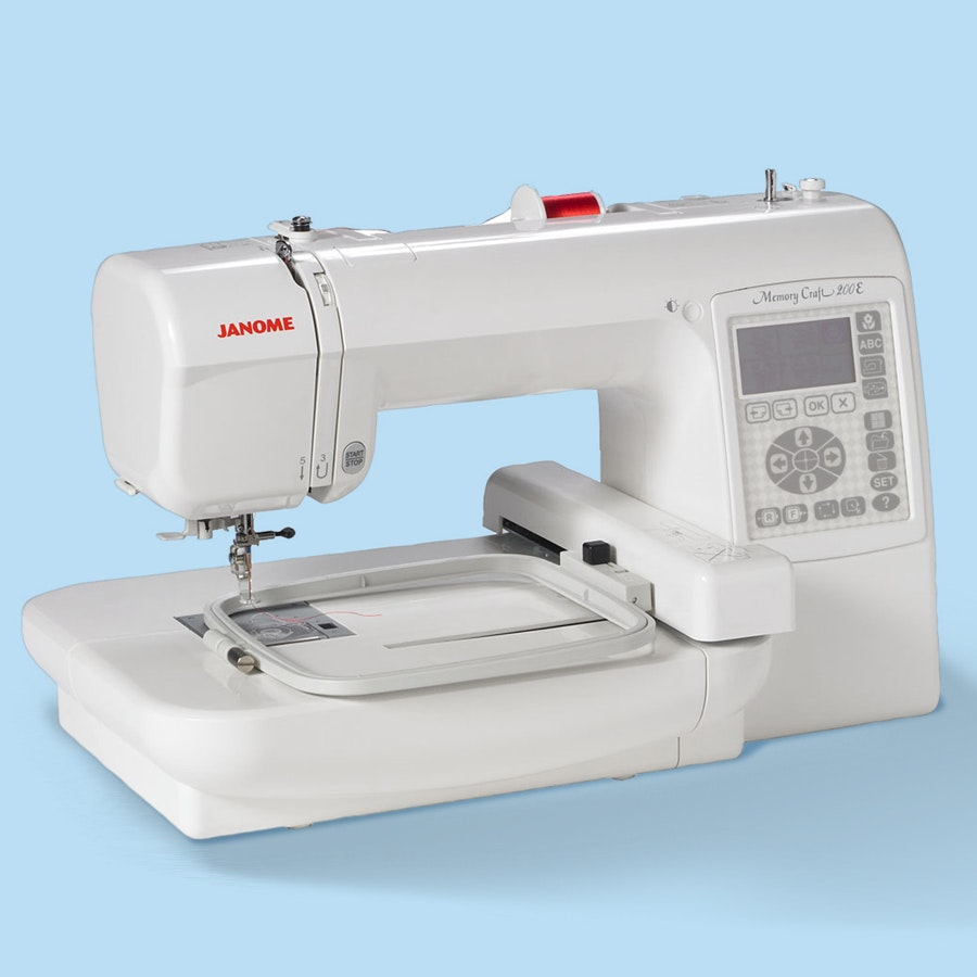 Janome 200e Embroidery Machine Price Reviews Massdrop Thread A Sewing Diagram Labeled