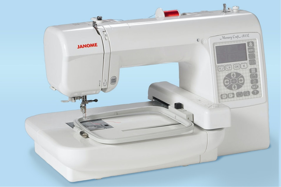 Janome 200e Embroidery Machine Price Reviews Massdrop