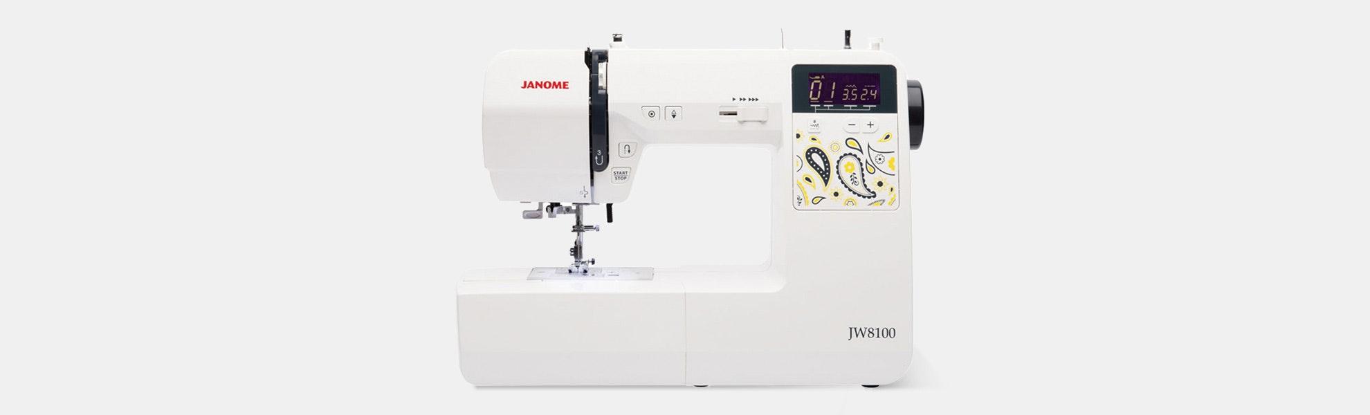Janome JW8100 Sewing Machine