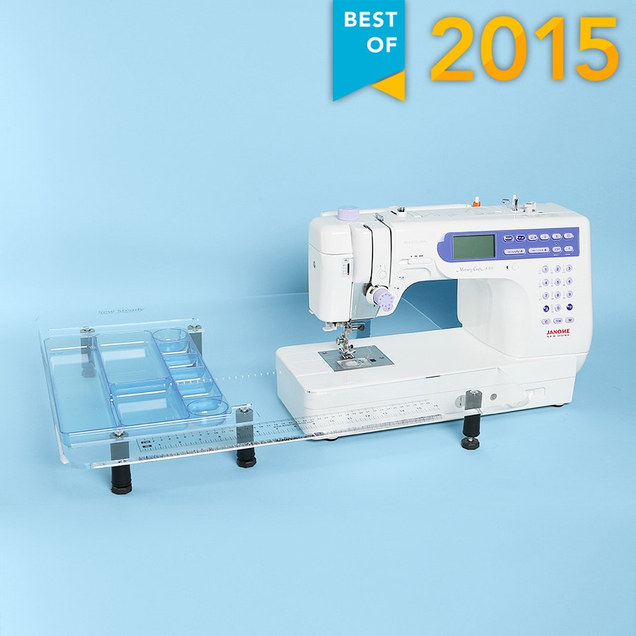 Janome Memory Craft 6500P and Sew Steady Table