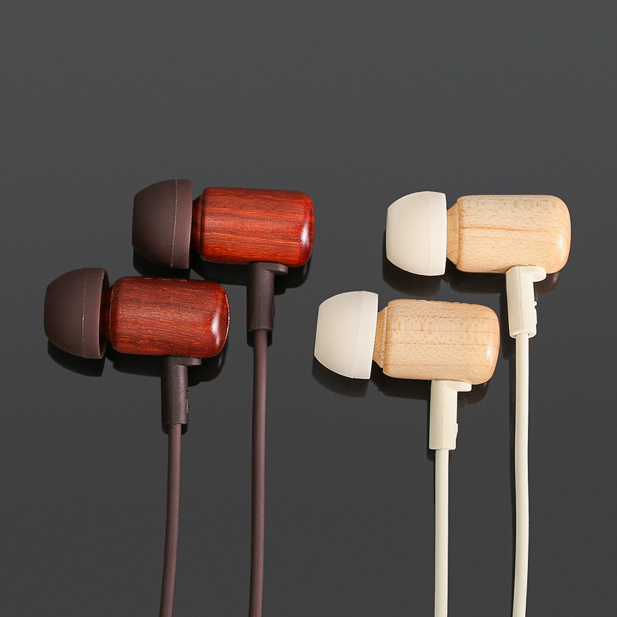 DZAT DF-10 Wood IEMs