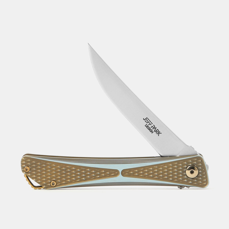 Jeff Park Design Bones Midtech Folding Knife