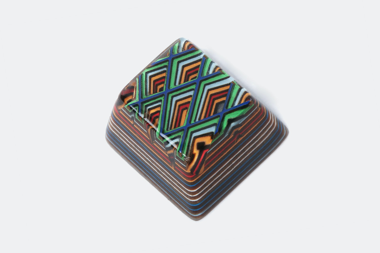 Jelly Key Artifact Series: Lozenge Valleys Keycap