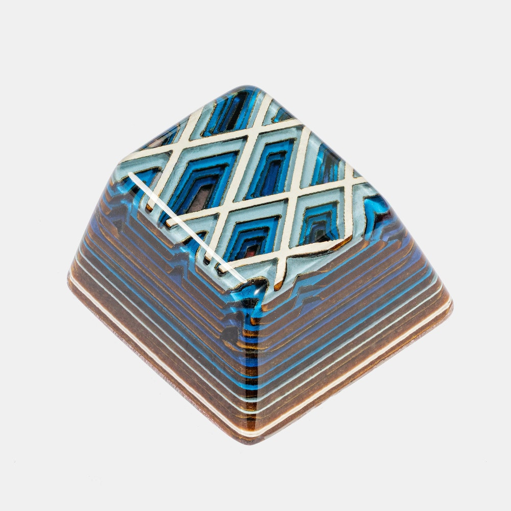 Jelly Key Artifact Series: Lozenge Valleys Keycap