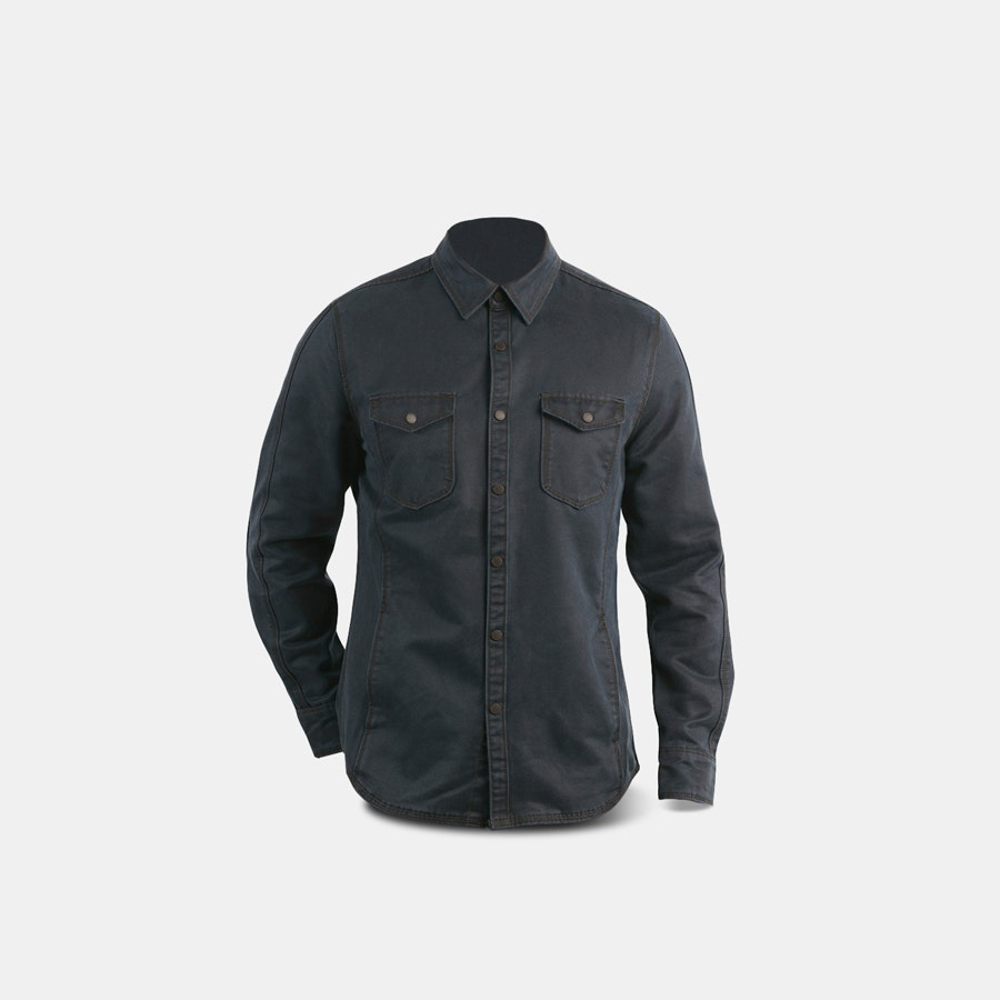 Jeremiah Colt Sueded Button-Down