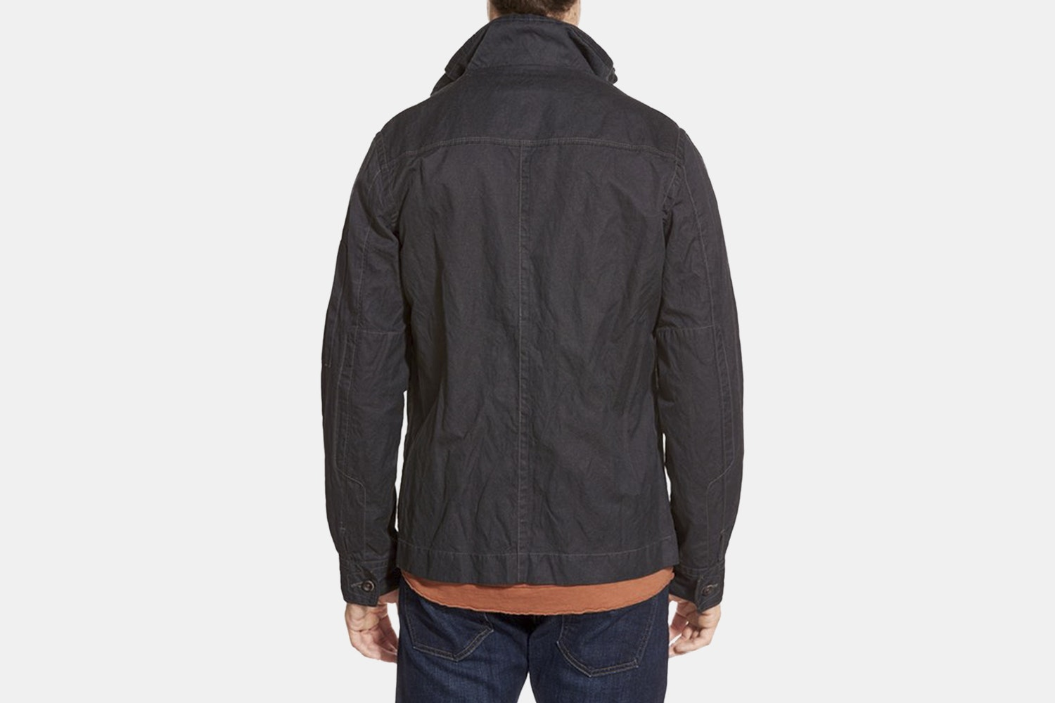 Jeremiah Thorne Coated Canvas Jacket