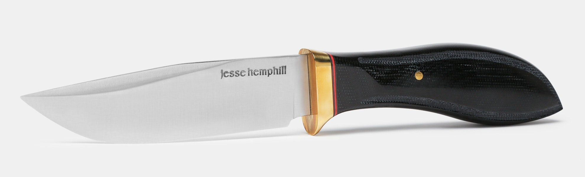 Jesse Hemphill Town Creek Fixed Blade Knife w/ A2