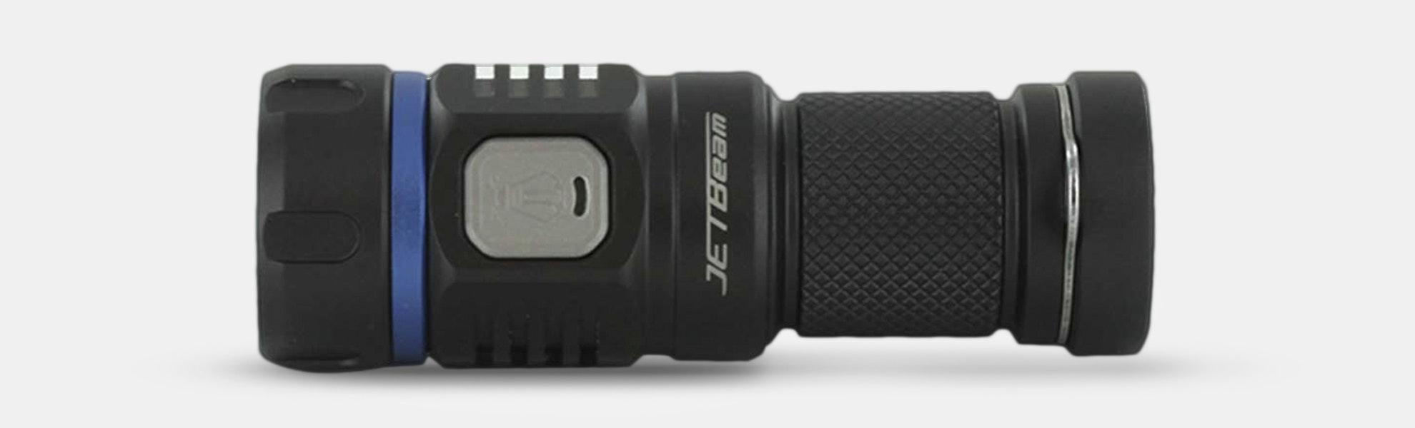 JETBeam E20R 990-Lumen Rechargeable Flashlight