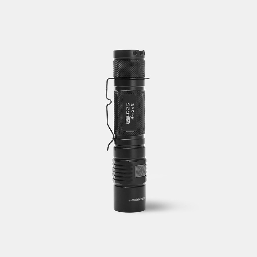 JETBeam SF-R25 USB-Rechargeable Flashlight