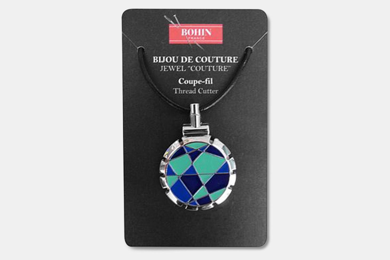 Jewel Thread-Cutter Necklace