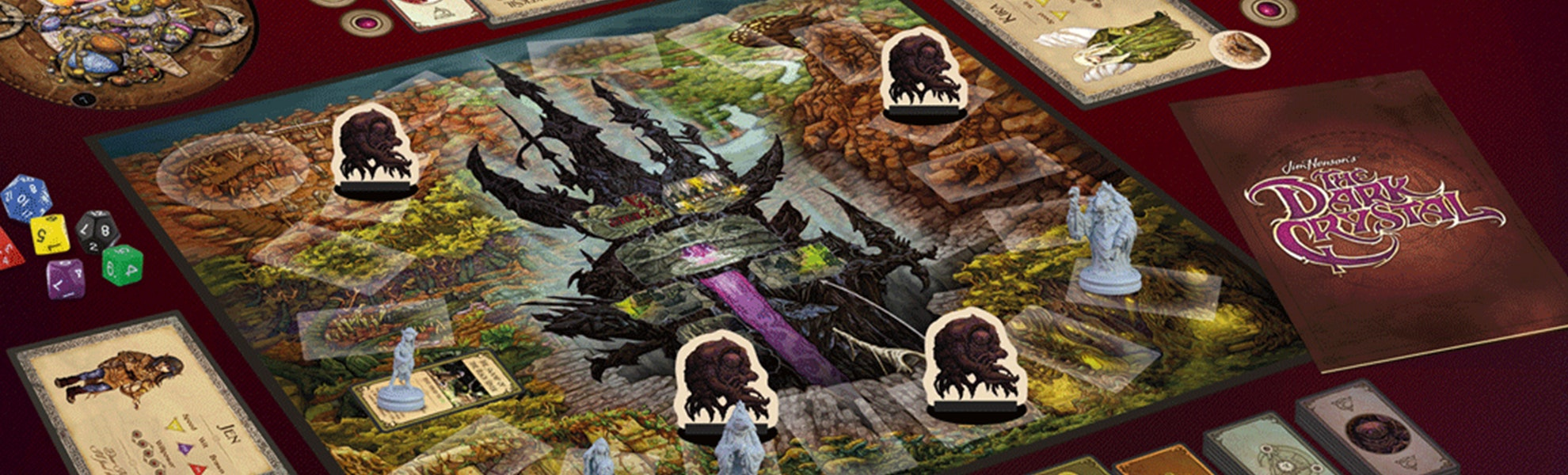 Jim Henson's The Dark Crystal Board Game Preorder