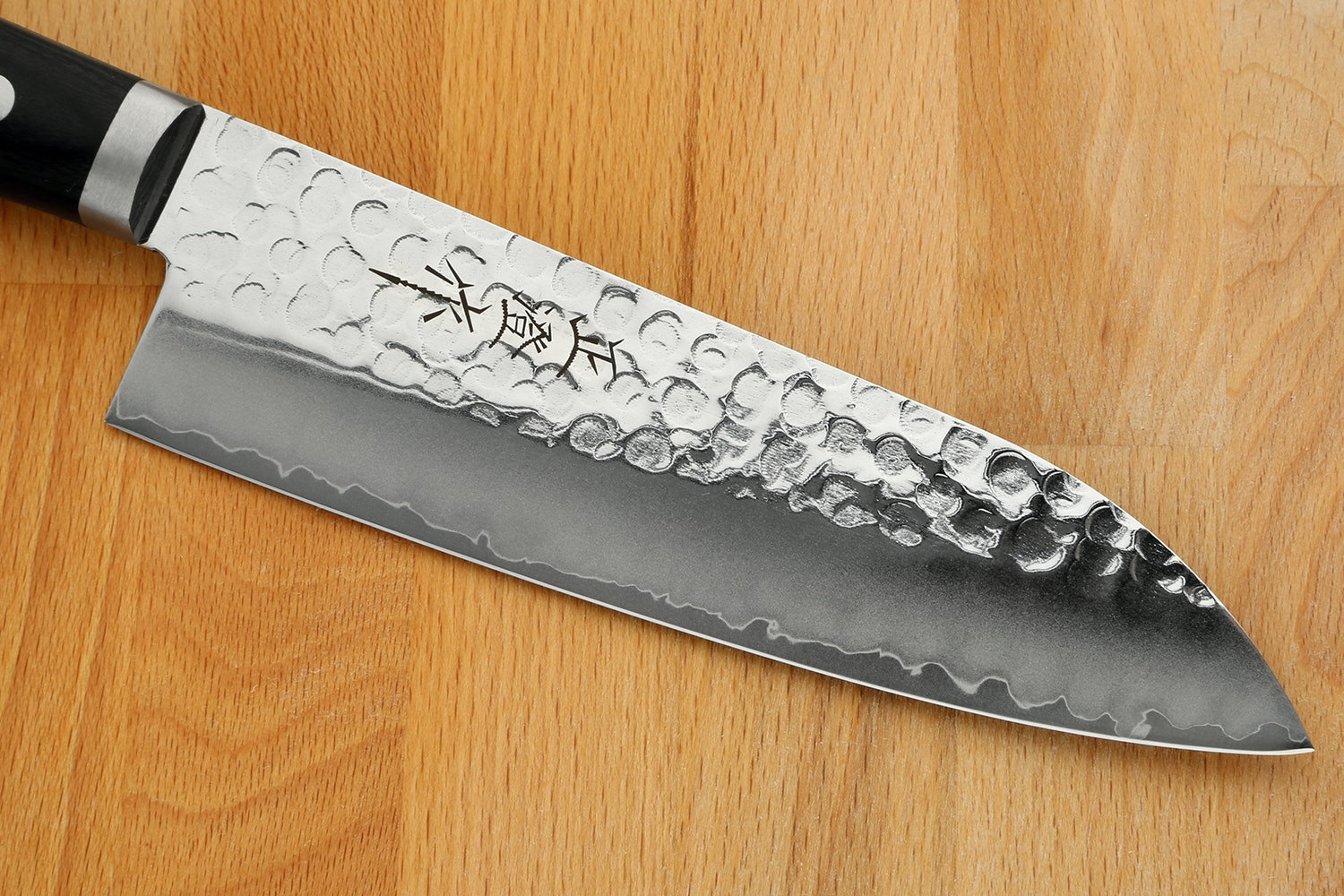 Masazumi Hammered Steel Kitchen Knives