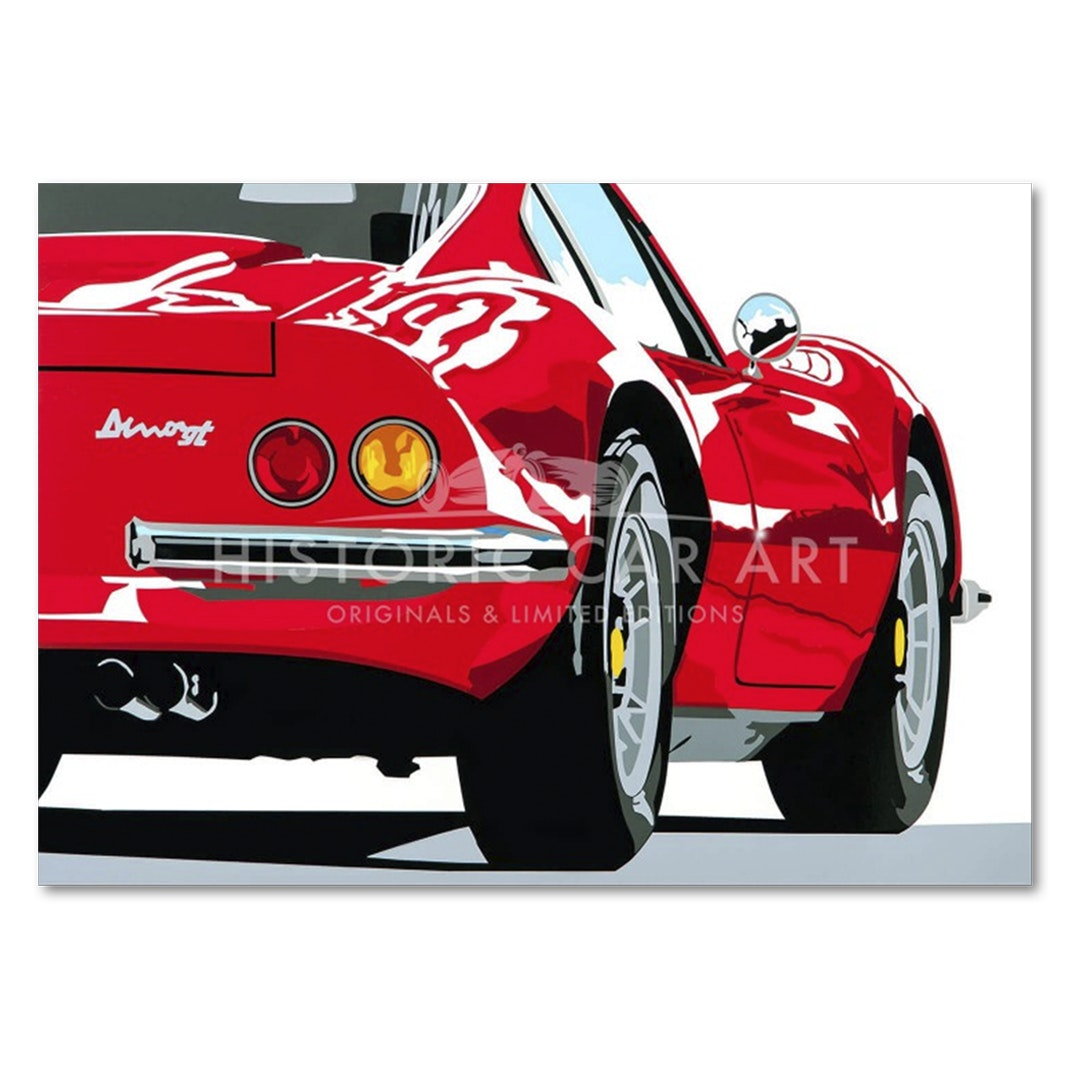 Joel Clark Speed Icon Automotive Prints
