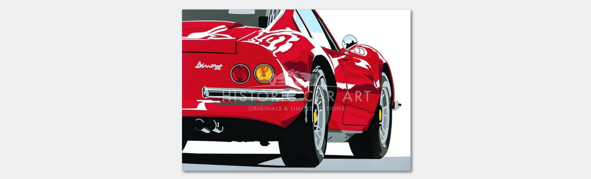 Joel Clark Speed Icon Automotive Prints