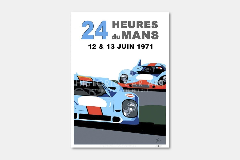 Le Mans 24H 1971 Poster