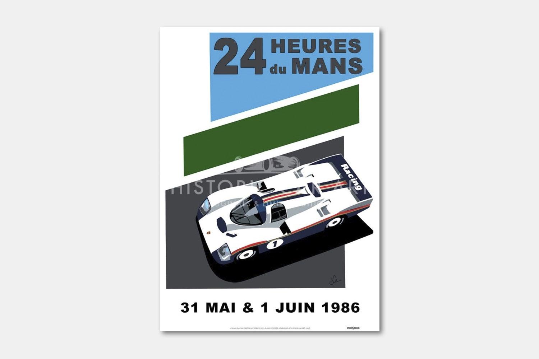 Le Mans 24H 1986 Poster