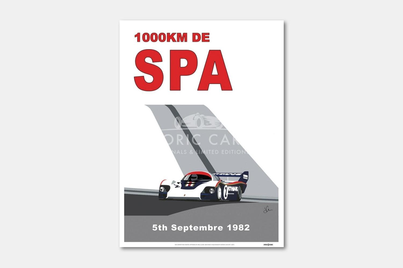 Spa 100Km 1982 Poster