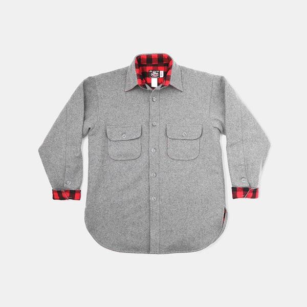 5f2c7b887e6 Johnson Woolen Mills Flannel-Lined Wool Shirt