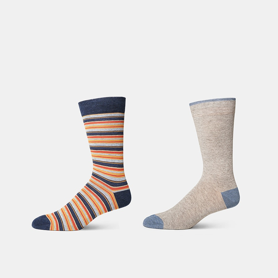 J.S. Blank & Co. Cashmere Blend Socks (2-Pack)