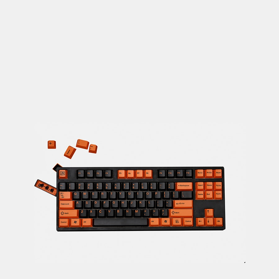 JTK ABS Doubleshot Keycaps