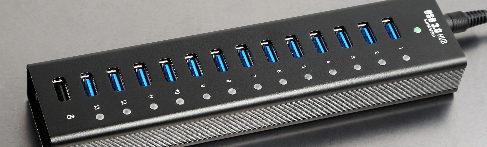 Juiced 13 + 1 USB 3.0 ALUMINUM HUB