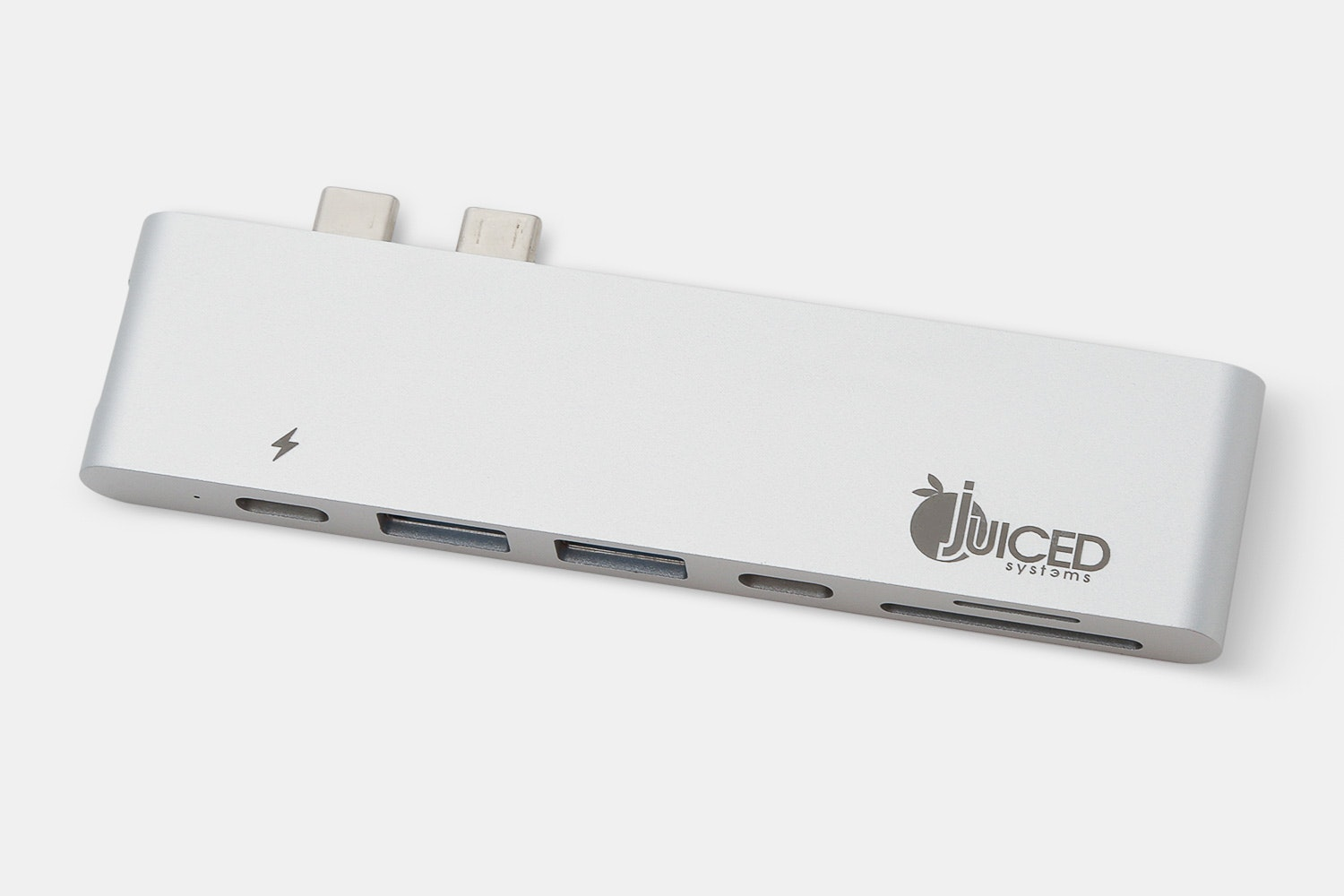 Juiced USB-C UltraHUB -MacBook Pro USB-C HDMI Multiport Adapter – Silver (+ $28)